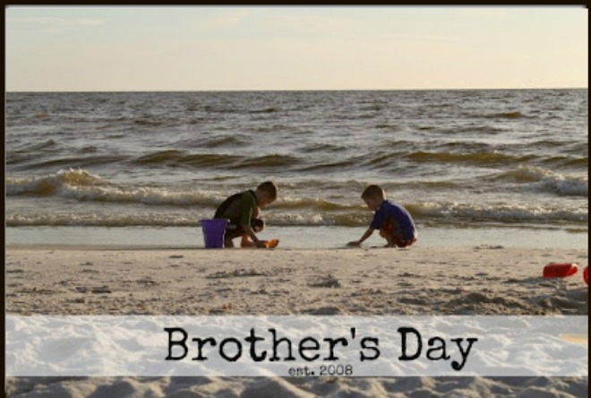 Brothers Day for Sibling Bonding