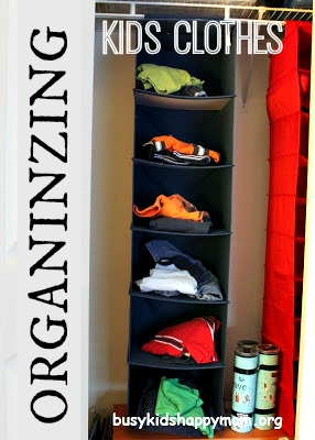 Organizing Clothes for Kids