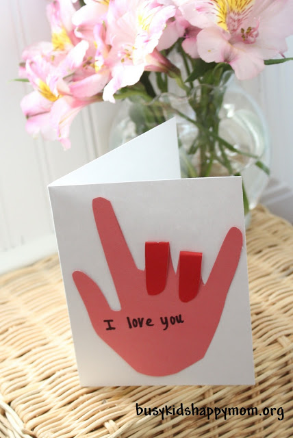 I Love You Sign Language Card