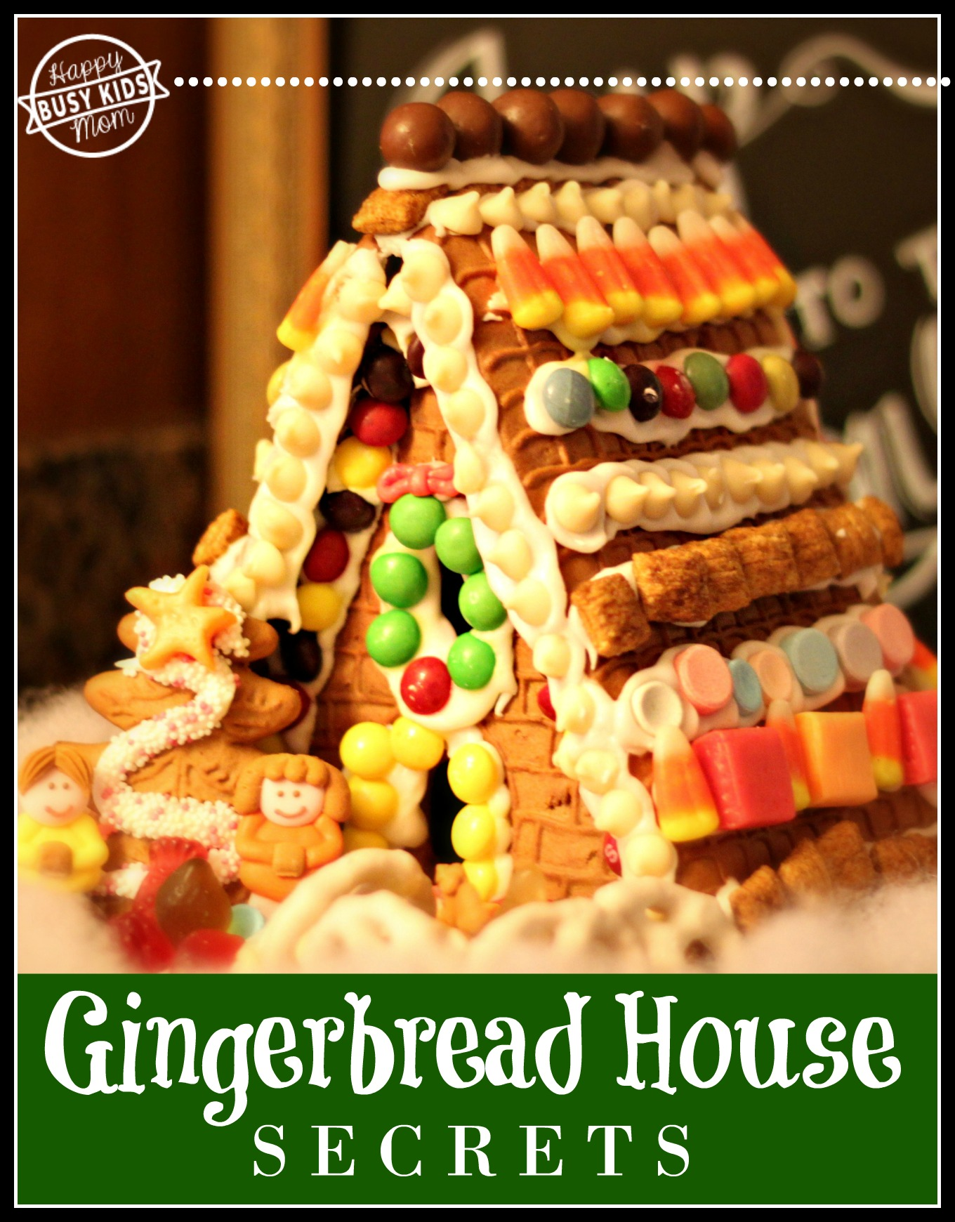 Looking for a secret trick to make a faster gingerbread house?
