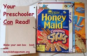 Environmental Print:  Preschool Reading