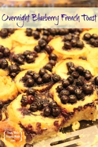 Blueberry Overnight French Toast