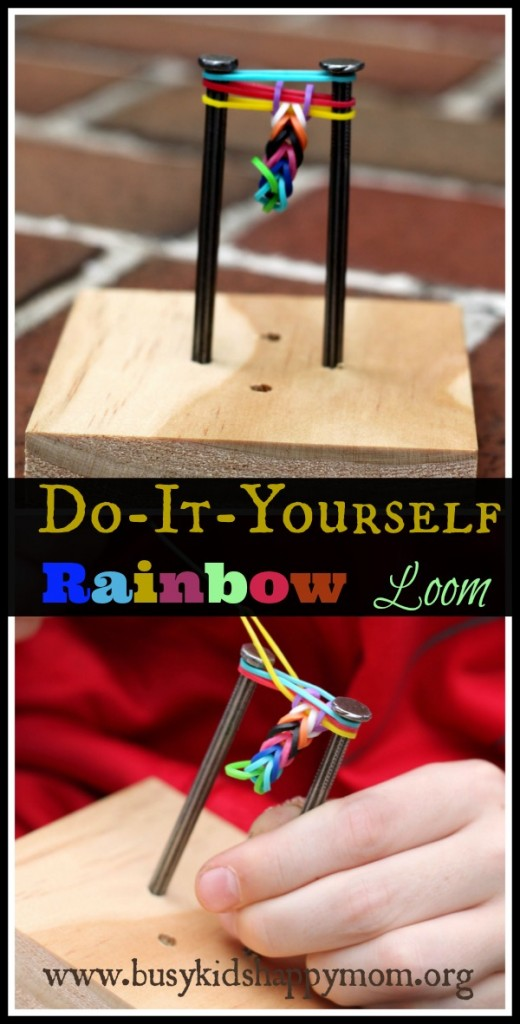 DIY Rainbow Loom1