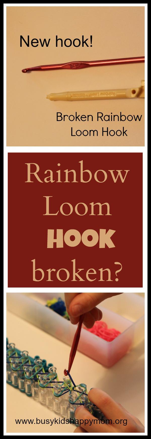 Rainbow Loom repalcement hook