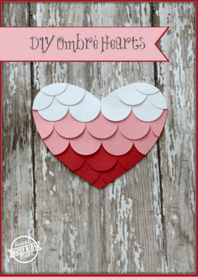 DIY Ombre Heart