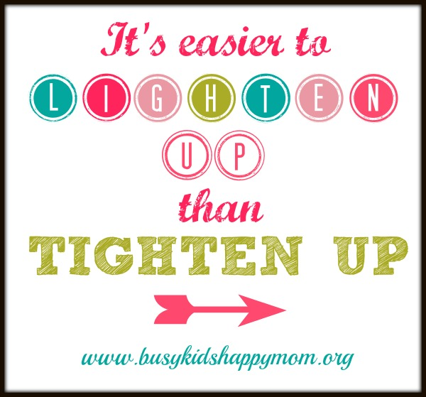 It's Easier to Lighten Up than Tighten Up... Parenting the Connected Generation (Boundaries with Technology)
