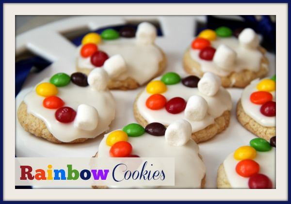 Rainbow Cookies from Busy Kids Happy Mom
