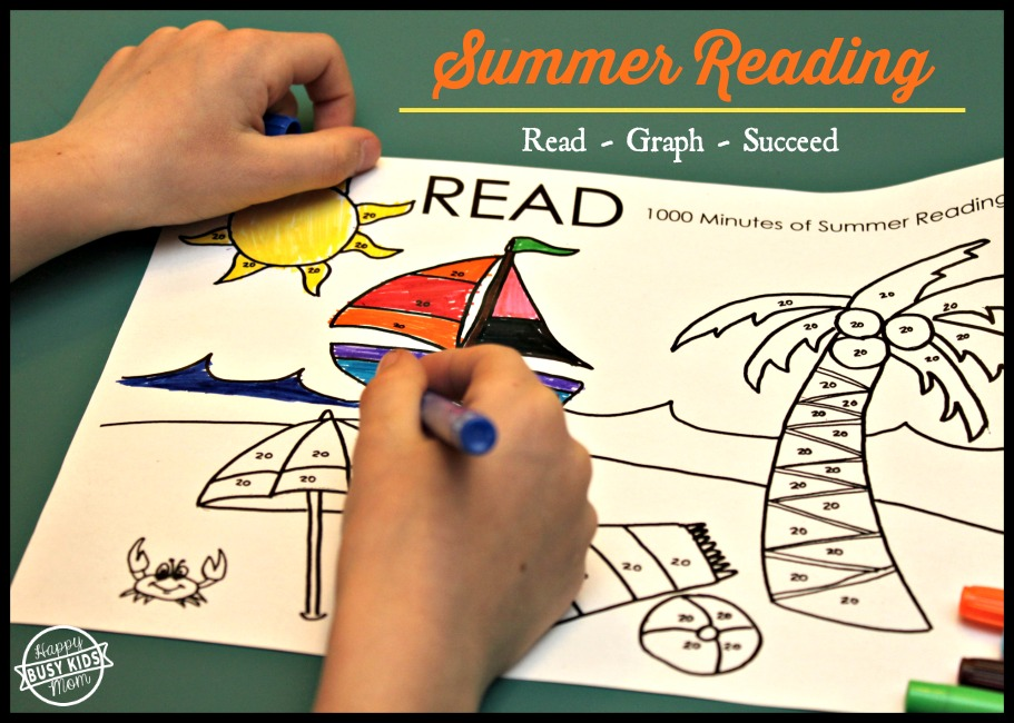 Summer Reading Graph 1000 minutes