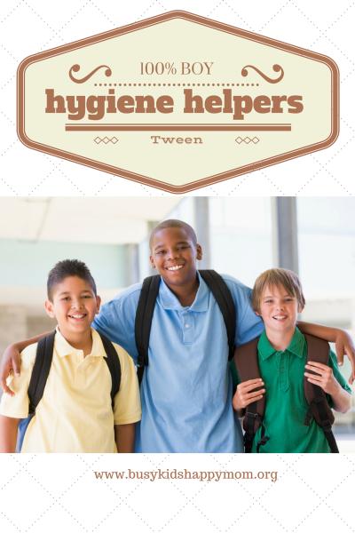 Hygiene Helpers for Tween Boys