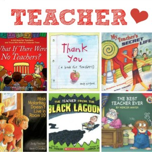 Teacher Appreciation Books