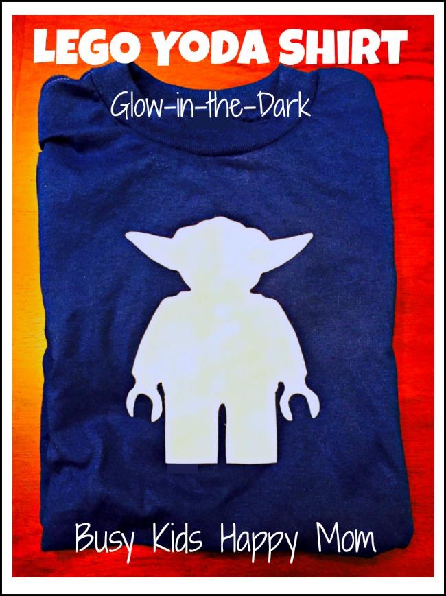 DIY Glow-in-the-Dark Yoda Shirt