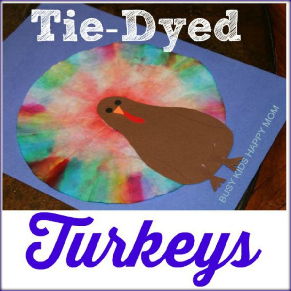 Tie-Dyed Turkeys