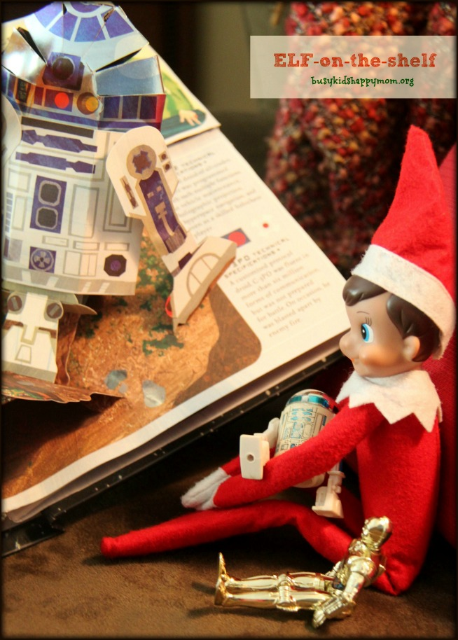 Story time with Star Wars and Elf on the Shelf