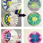 How to Tie-Dye Coffee Filters for Kids