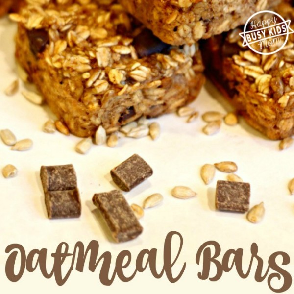 Gluten Free Oatmeal Chocolate Bar Recipe