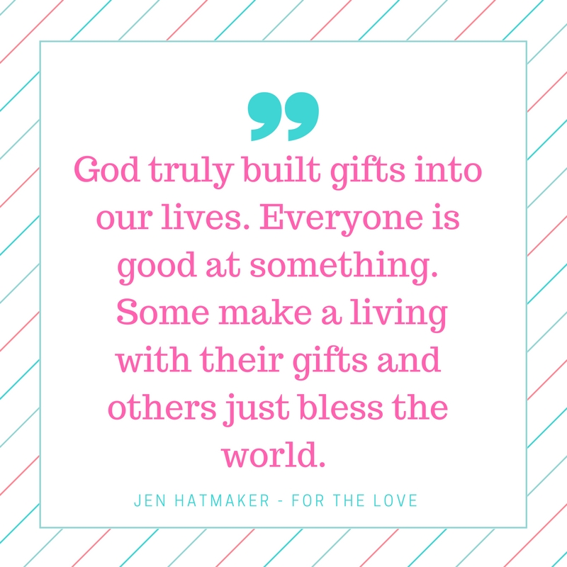 """our gifts as blessings to others essay God has a purpose for our family, and that includes blessing others  if you  know a child who lives in poverty, ask your kids, """"what is one good gift that ( child's."""