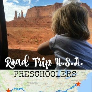 How to Drive Across America with Preschoolers