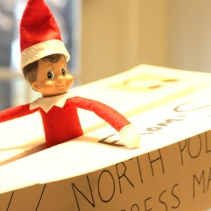 Elf-on-the-Shelf Arrival