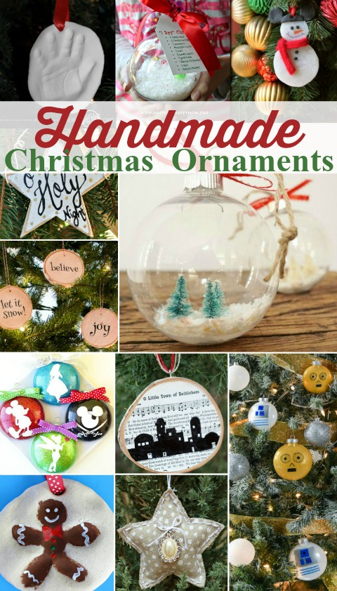 Handmade Christmas Ornaments  Busy Kids Happy Mom