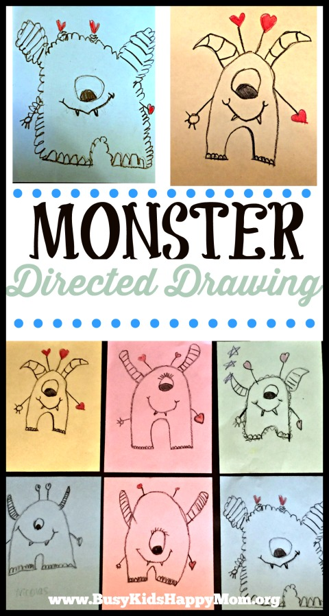 Monster Directed Drawing