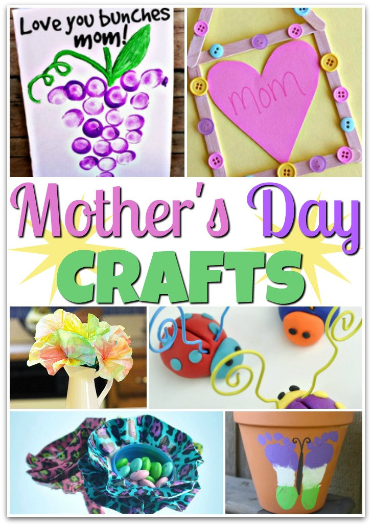 Easy Mother S Day Crafts For Children To Make From Paint