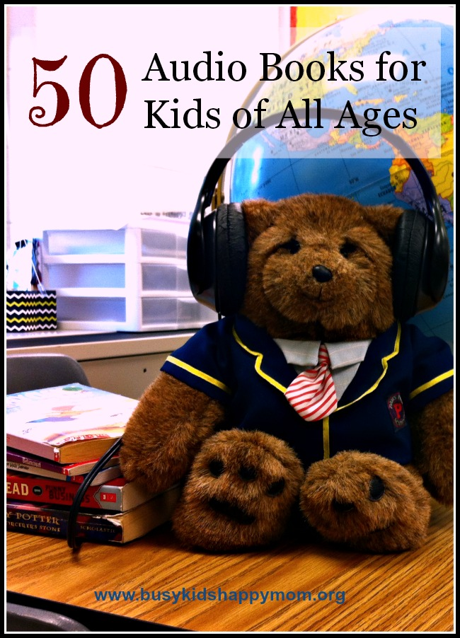 Audio Books for Kids of All ages