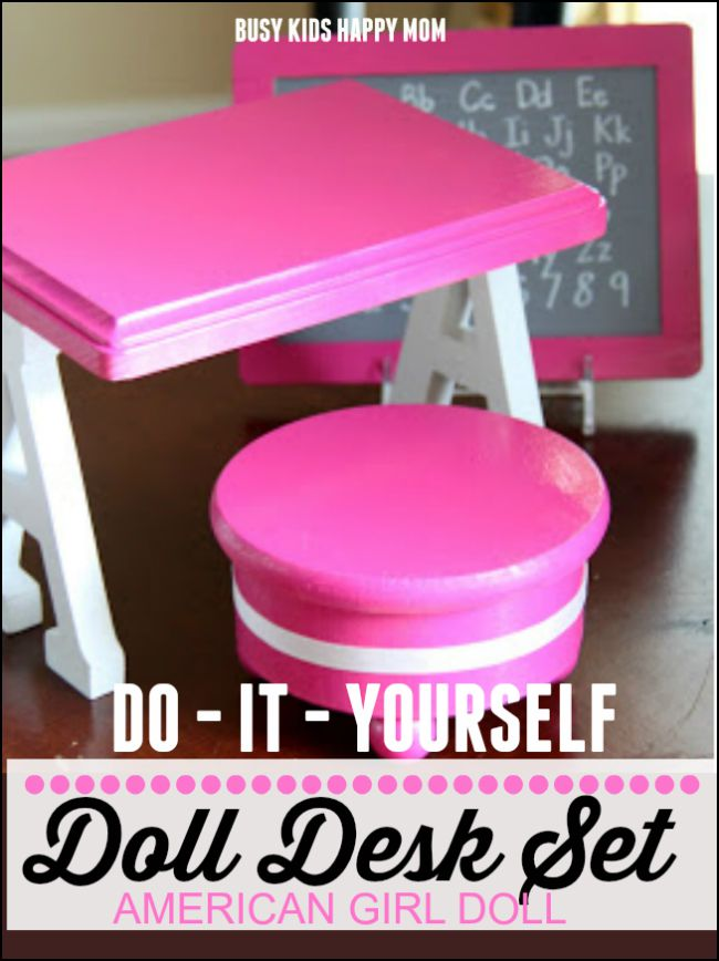 Diy American Doll Furniture