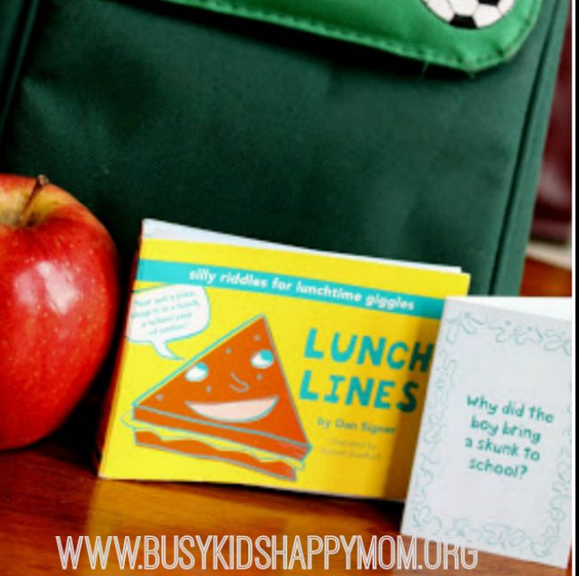 Lunch box jokes - check out these free printable kids jokes.