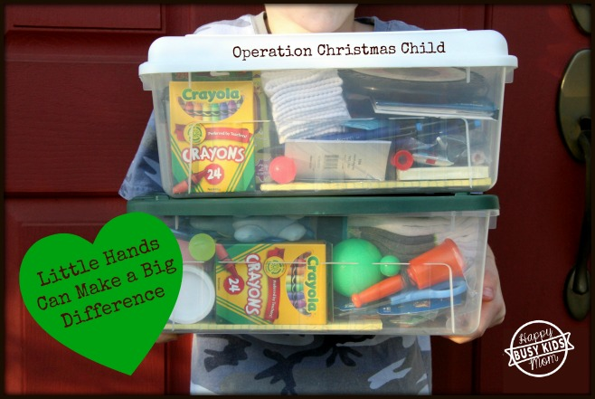How to Pack Operation Christmas Child Boxes inexpensively.