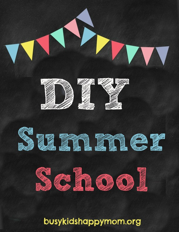 Do it yourself summer school from busy kids happy mom diy summer school fun ideas for each day of the week and simple activities to solutioingenieria Image collections