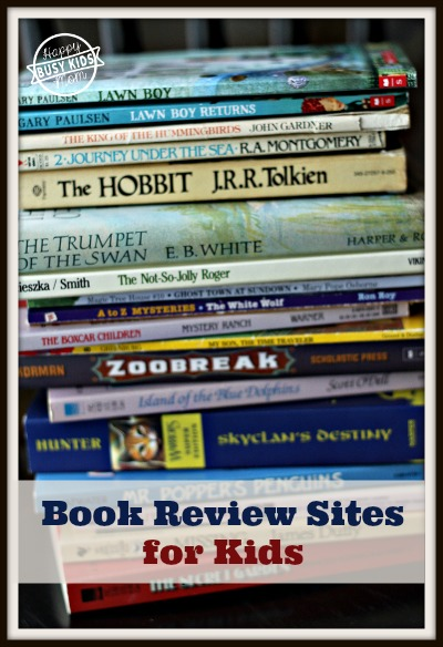 Book Review Sites for Kids Books