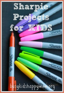 12 Sharpie Crafts You'd Try with Your Kids