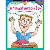 I'm Through! What Can I Do? books