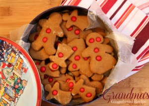Old Fashioned Gingerbread: Grandma's Gingerbread Men Recipe