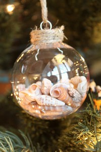How To Make Seashells Ornaments for Christmas