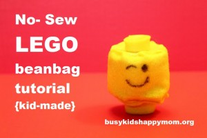 LEGO Beanbag Tutorial (10 year old friendly)