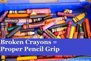 How To Hold A Pencil: Pencil Grip Trick