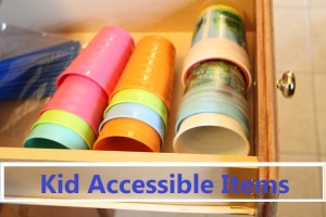 Life Skills: Kid Accessible Items