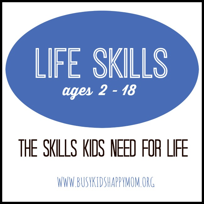 Life Skills for Kids ages 2-18