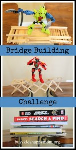 Popsicle Stick Bridge Building Challenge