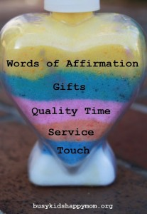Five Love Languages: Service