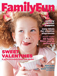 Celebrating with Family Fun Magazine!