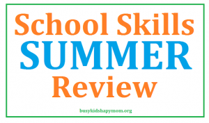School Skills for Summer – Elementary