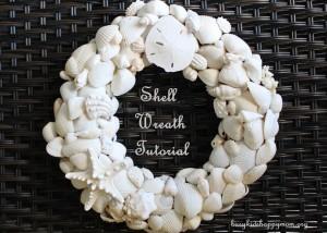 Shell Wreaths Tutorial