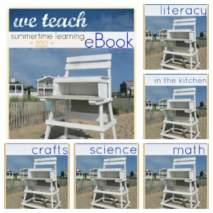 The *FREE* 'we teach' Summer eBook is here!