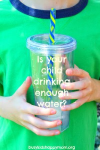 Kids and Drinking H2O – Are they Getting Enough?