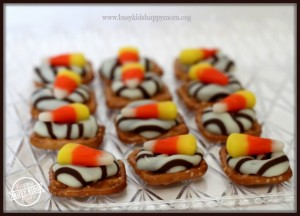 Candy Corn Treats for Halloween