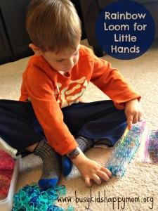 Rainbow Loom for Preschoolers