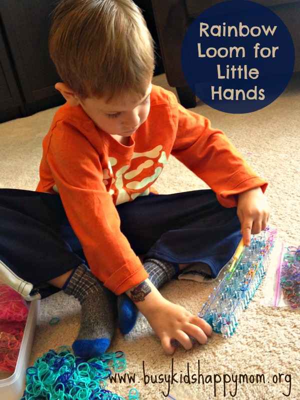Rainbow Loom for Little Hands