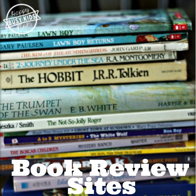 Book Review Sites for Kids